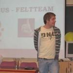 Presentasjon av Feltteamet ved Sverre Bjerga